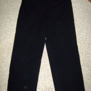 Catherine Fit Full Length Navy Blue Dress Pants 14